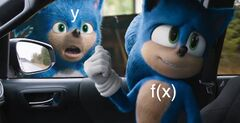 Sonic Pointing at Window meme #2