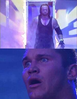 Undertaker Entering Arena: blank meme template
