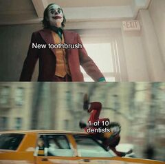 Joker Hit By Car meme #1