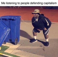 Listening to Trash meme #4