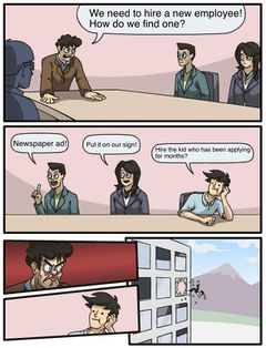 Boardroom Suggestion meme #2