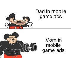 Buff Mickey Mouse meme #3