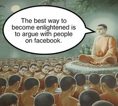 Buddha Enlightenment meme #1