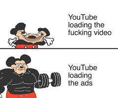 Buff Mickey Mouse meme #2