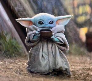 Baby Yoda Drinking Soup Meming Wiki