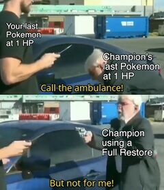 Call An Ambulance But Not For Me meme #2