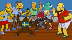 Simpsons Monkey Knife Fight meme #2