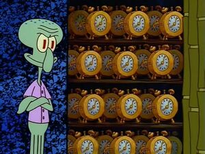 Squidward's Clock Closet - Meming Wiki