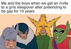 Me and the Boys meme #4