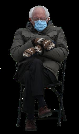 Bernie Sanders In A Chair Meming Wiki