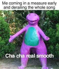 Cha Cha Real Smooth meme #2