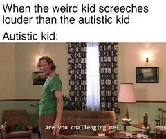 Are you challenging me? meme #2