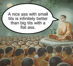 Buddha Enlightenment meme #3