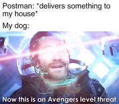 Now This Is an Avengers Level Threat meme #4