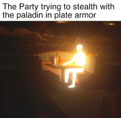 Glowing Man meme #4