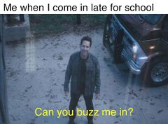 Ant-Man on Security Camera meme #2