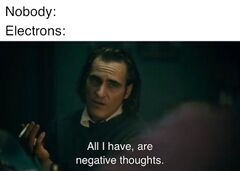 All I Have Are Negative Thoughts meme #2